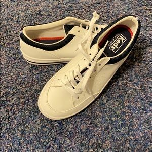 White leather Keds sneakers size 7